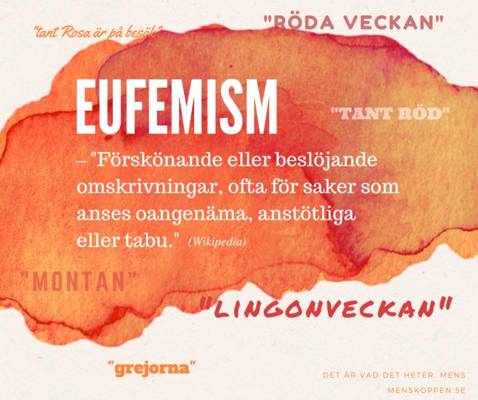 Eufemism - menskoppen.se
