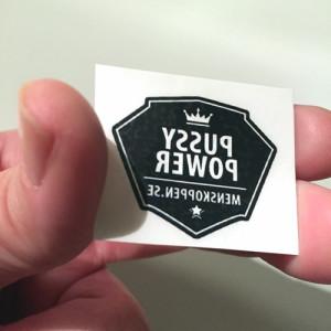 Gnuggis –tillfällig tatuering menskoppen.se