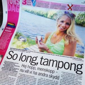 Artikel om menskoppar i Aftonbladet och intervju med mig