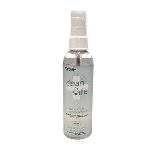 Clean'n'safe rengöringsspray flaska