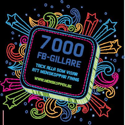 7000 gillare på Facebook!
