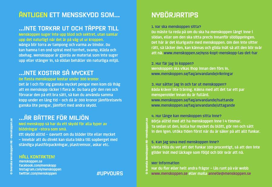 FAQ menskopp ©menskoppen.se