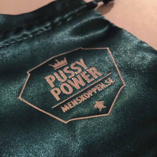 Påse Pussy Power menskoppen.se - Petrol