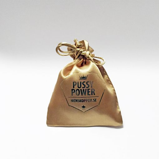 Påse Pussy Power menskoppen.se - Guld