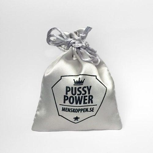 Påse Pussy Power menskoppen.se - Silvergrå