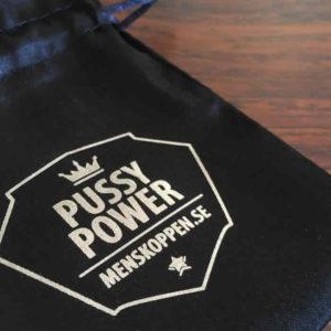 Påse Pussy Power menskoppen.se - Svart