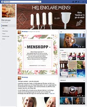 Menskopp på Facebook